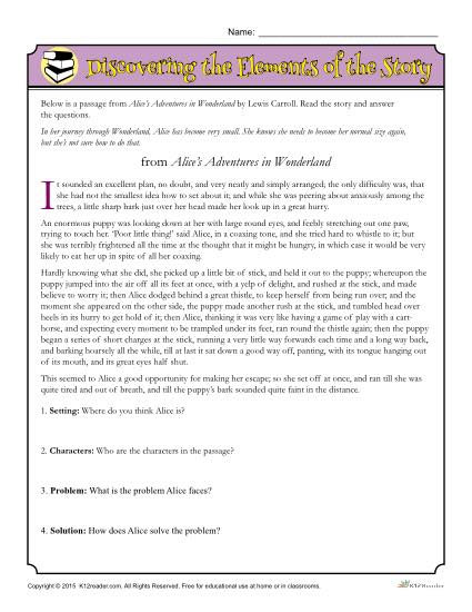 Worksheet Identifying Story Elements Worksheet unit 9 4th grade click on the worksheet and print to work identifying elements of a story turn in before is due